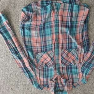 Express Flannel Shirt Size small